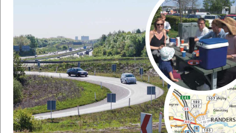 Fa Kort Over Motorvejene Til Din Koretur Vejdirektoratet